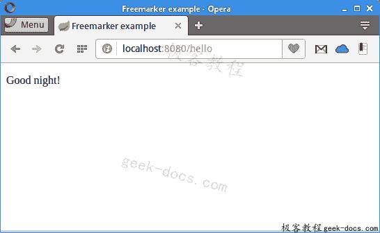 Java FreeMarker
