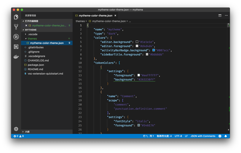 VSCode 插件开发编辑器命令