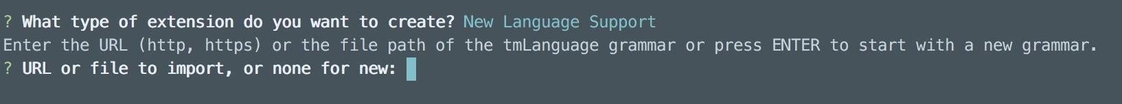 VSCode 插件开发自定义语言